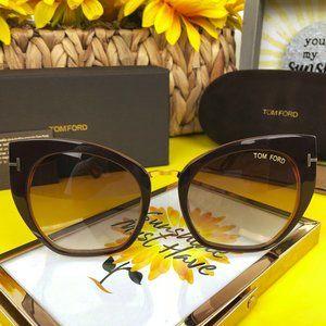 TOM FORD Sunglasses SAMANTHA-02 TF 553 004   Brown